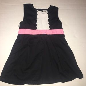 Maggie & Zoe classic formal black and white dress